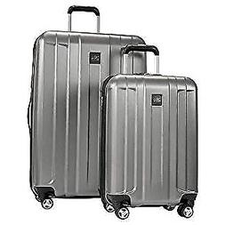 1 piece expandable hardside spinner luggage set