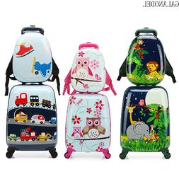 18/19/20 Inch Cute Cartoon Child Rolling <font><b>Luggage</b