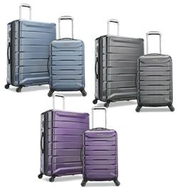 Samsonite 2 pc Hard Side Luggage Set 4 Spinner Wheel Suitcas