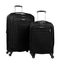 "Samsonite 2-pc Spinner Luggage Set 27"" Check-in & 21"" Carry-"