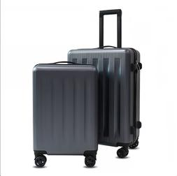 2 Piece Light Weight ABS Luggage Suitcase Set with Spinner W