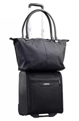 Samsonite 2-piece Women's Tote & Carry On Luggage Set, Black