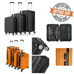 "20""24""28"" 3in1 Travel Luggage Sets Spinner 4-Wheel Suitcase"