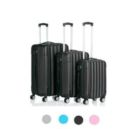 """20"""" 24"""" 28"""" 3Pcs Travel Luggage Set Bag Trolley Spinner Suit"""