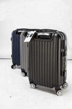 """20"""" Hardshell Luggage Travel ABS Business Trolley Suitcase B"""