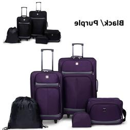21 Inch Large Luggage With Wheels Suitcase Travel Rolling Ca