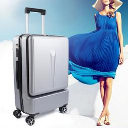 24 in Rolling Travel Luggage Carry on Case with Spinner Whee