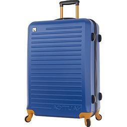 "Nautica 28"" Hardside Spinner Luggage Blue, Tangerine"