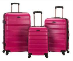 3-Pc Melbourne Luggage Set in Magenta