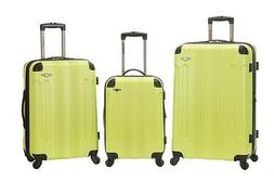 Rockland 3 PC SONIC ABS UPRIGHT SET ROCKLAND LIME F190-LIME