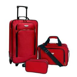 3-Piece Carry On Luggage Set EVA Suitcase Travel Telescopic