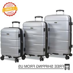 Dejuno 3 Piece Luggage Sets3 Piece Nested Spinner Luggage Se