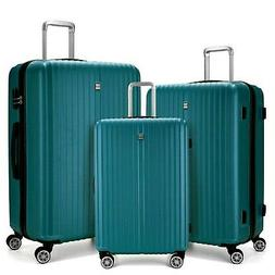 3 Piece Luggage sets Lightweight Durable Spinner Suitcase 20