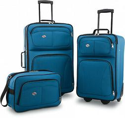 American Tourister 3 Piece Softside Luggage Set-Graduation G