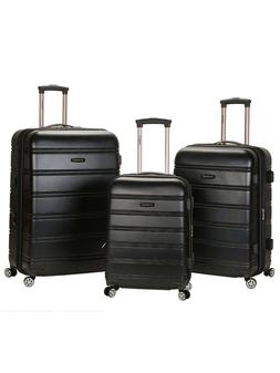 3 piece Travel set Luggage Hard shell Spinner Suitcase Carry