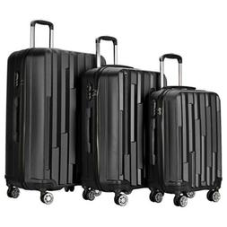 Resena 3 Pieces Carry on Luggage Sets with Spinner Wheels Tr