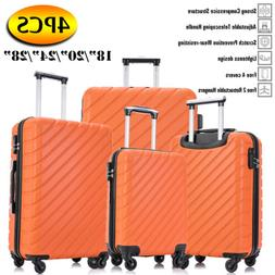 3PC Luggage Set Travel Bag Trolley Spinner Business Hard She