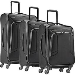 American Tourister 4 Kix 3pc Softside Expandable Luggage Set