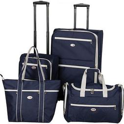 4 piece luggage set 2 colors