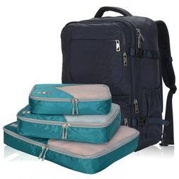 "44 Liter 22"" Backpack Flight Approved Carry on Bag with 3pcs"