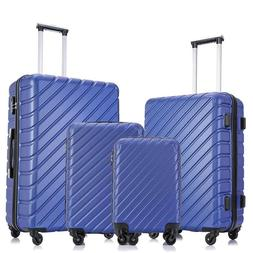 4PCS Suitcase Sets Luggage Travel Business Bag Trolley Spinn