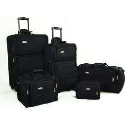 5 piece nested luggage suitcase set 25