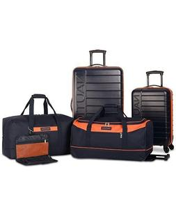 $500 New Nautica Sea Tide 5-Piece Hardside Luggage Set Blue