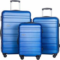 Merax Afuture 3 Piece Luggage Set Lightweight Spinner Suitca