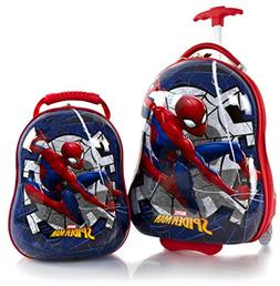 "Heys America Spiderman Boy's 2 Pc Luggage Set -18"" Carry On"