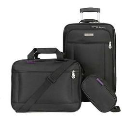 American Explorer Clark 3-Piece Wheeled Luggage Set - Skyway
