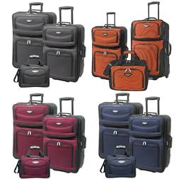 amsterdam 3 piece light expandable rolling luggage