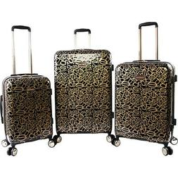 annabelle 3 piece set suitcase with spinner