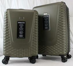 STEVE MADDEN ANTICS 2 PIECE HARDSIDE SPINNER LUGGAGE SET 24""