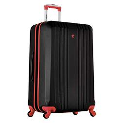 """Olympia Apache Ii 29"""" Carry-on Spinner, Black+RED"""