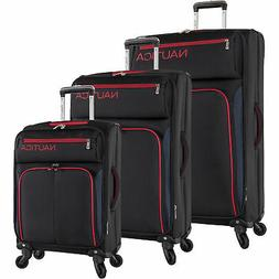 Nautica Ashore 3 Piece Expandable Spinner Luggage Set Multip