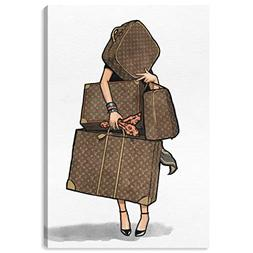 Bags, Bags, Bags by Oliver Gal | Modern Premium Canvas Art P