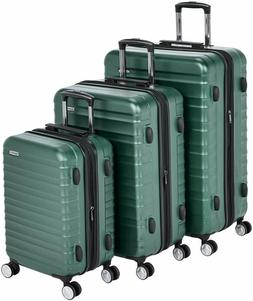 Basics Premium Hardside Spinner Luggage With Built-In Tsa Lo