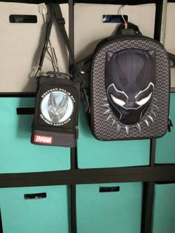 Disney Store Black Panther Backpack And Lunch Box School Tot
