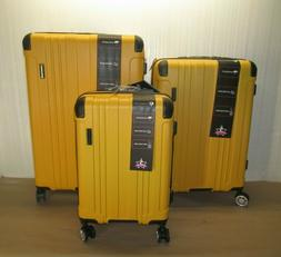 Gabbiano Bravo Collection 3 Piece Hardside Expandable Spinne