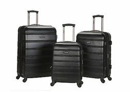 Rockland Luggage 3 Piece Carnival Hardside Spinner Set