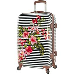 Tommy Bahama Carry On Hardside Luggage Spinner Suitcase Flor