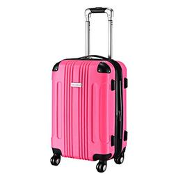 Goplus Carry On Luggage 20-inch ABS Expandable Hardside Trav