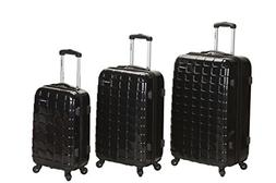 Rockland Luggage 3 Piece Celebrity Hardside Spinner Set