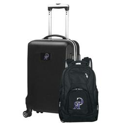 Colorado Rockies Deluxe 2-Piece Backpack And Carry On Set