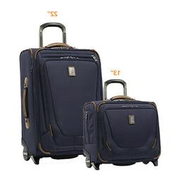 """Travelpro Crew 11 - 22"""" Spinner & 13"""" Tote Set  - Patriot Bl"""
