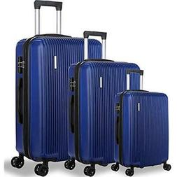 DFAVORS3 Pieces Expandable Luggage Sets ABS Hardside Spinner