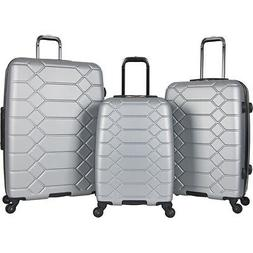 Aimee Kestenberg Diamond Anaconda 3 Piece Hardside Luggage S