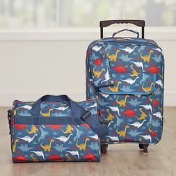 Dinosaur Luggage Set for Kids with Rolling Bag, Tote with Sh