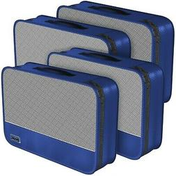 Dot&Dot Medium Packing Cubes for Travel - 4 Piece Luggage Ac