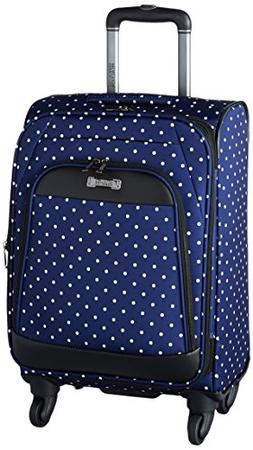 "Kenneth Cole Reaction Dot Matrix 20"" 600d Polka Dot Polyeste"